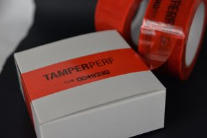 Tamper Evident Labels for Access Covers