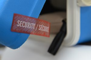 Tamper-Evident Airline and Airport Security Labels