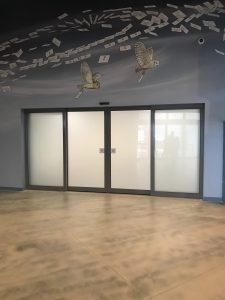 Blast Resistant sliding door system