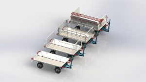 LINEMA LZ Series Baggage Carts