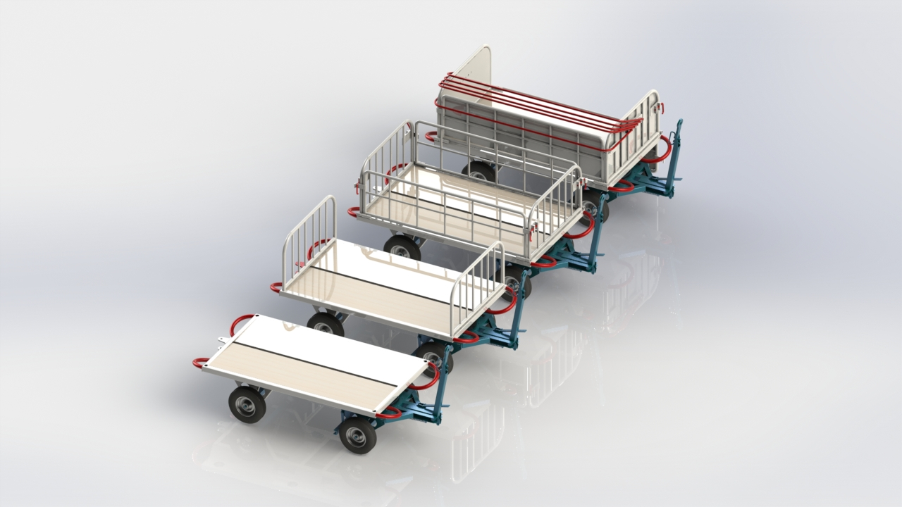 a120162e041c LINEMA LZ Series Baggage Carts - Airport Suppliers