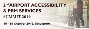 Don't miss out on the exclusive opportunity to be part of the 2nd Airport Accessibility and PRM Services Summit 2019 this October!