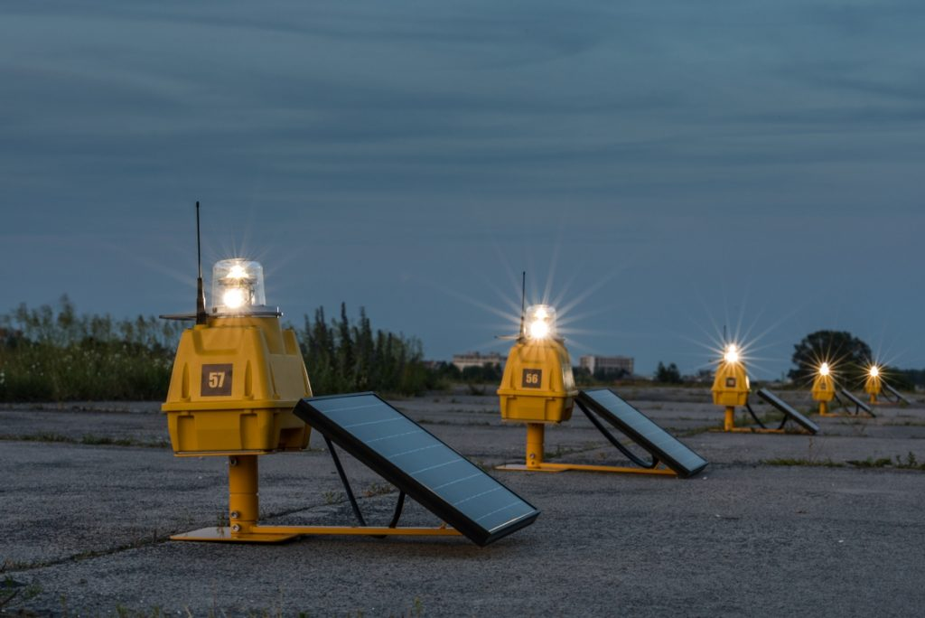 Solar Airport Lighting
