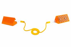 Mark II Twin Chock Orange with rope