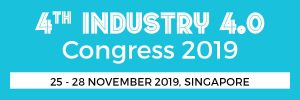 Equip Global's 4th Industry 4.0 Congress 2019 will be held in Singapore from 15 - 18 October 2019