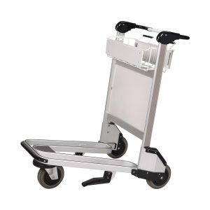 3 Wheel Luggage Trolley - Aluminium