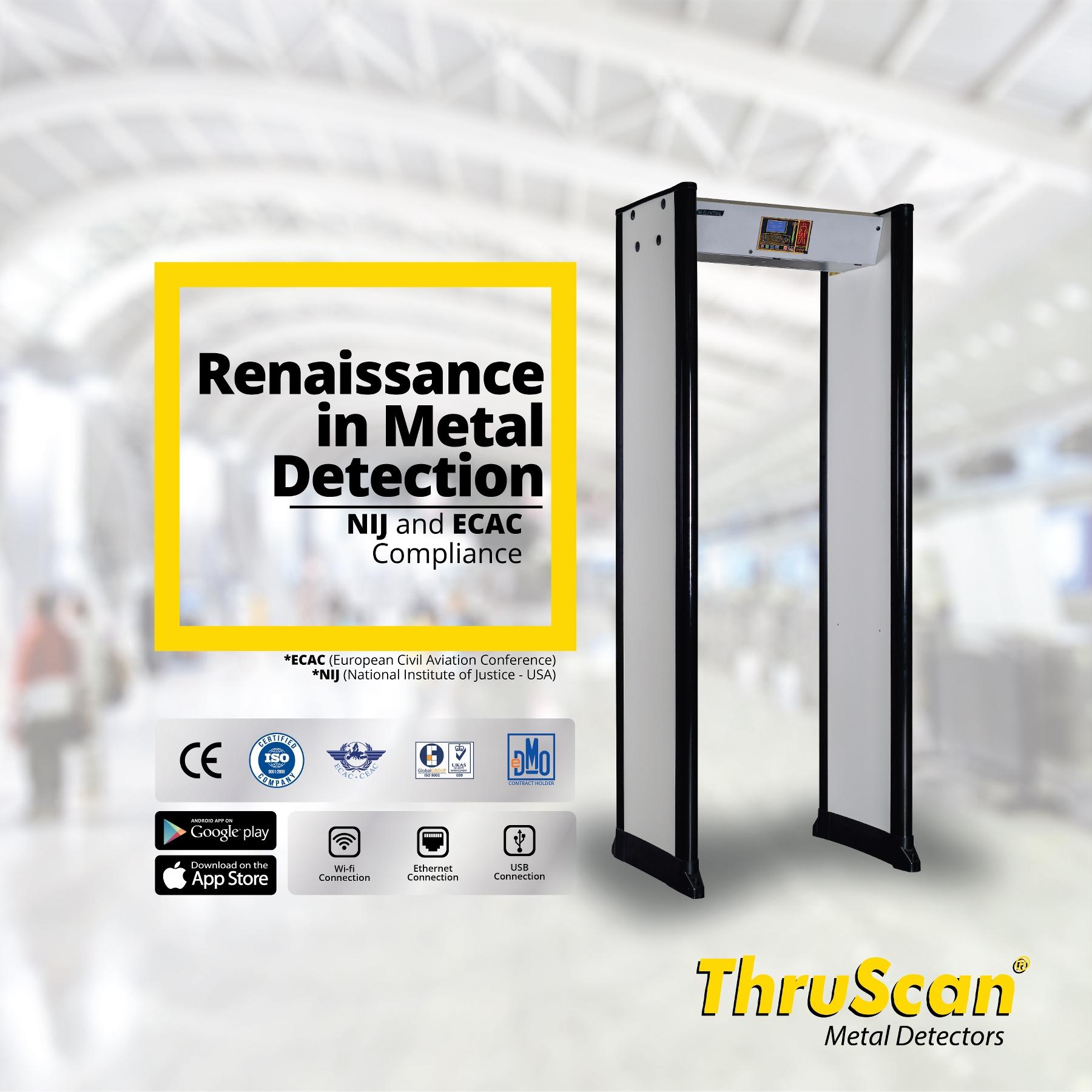 Security Walk Through Metal Detectors