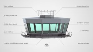 MV8 Series Modular Air Traffic Control Room