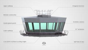 MV8 Series Modular Air Traffic Control Room