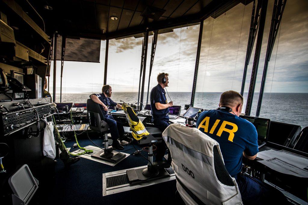 Air Traffic Control Room Design