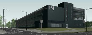 Multifunctional Car Park Nears Completion at Lithuania's Vilnius Airport