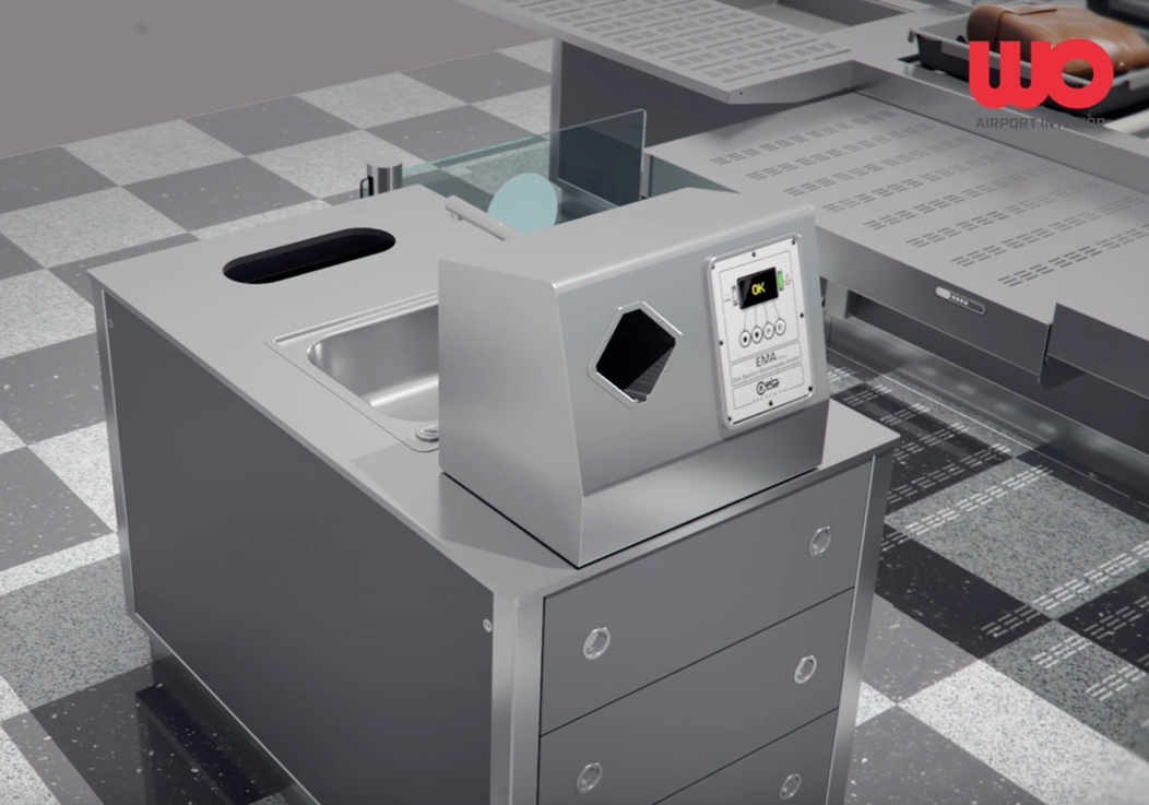 Airport Tray Return Systems