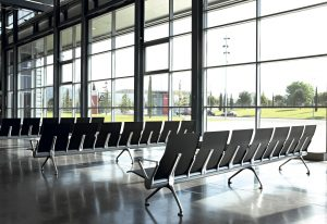 Avant, airport seating by Alegre Design
