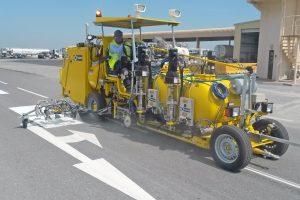HOFMANN H33 - Runway Line Marking Machine - Bahrain