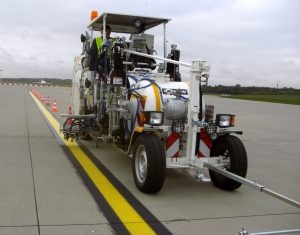 HOFMANN H33 - Runway Line Marking Machine - Hamburg