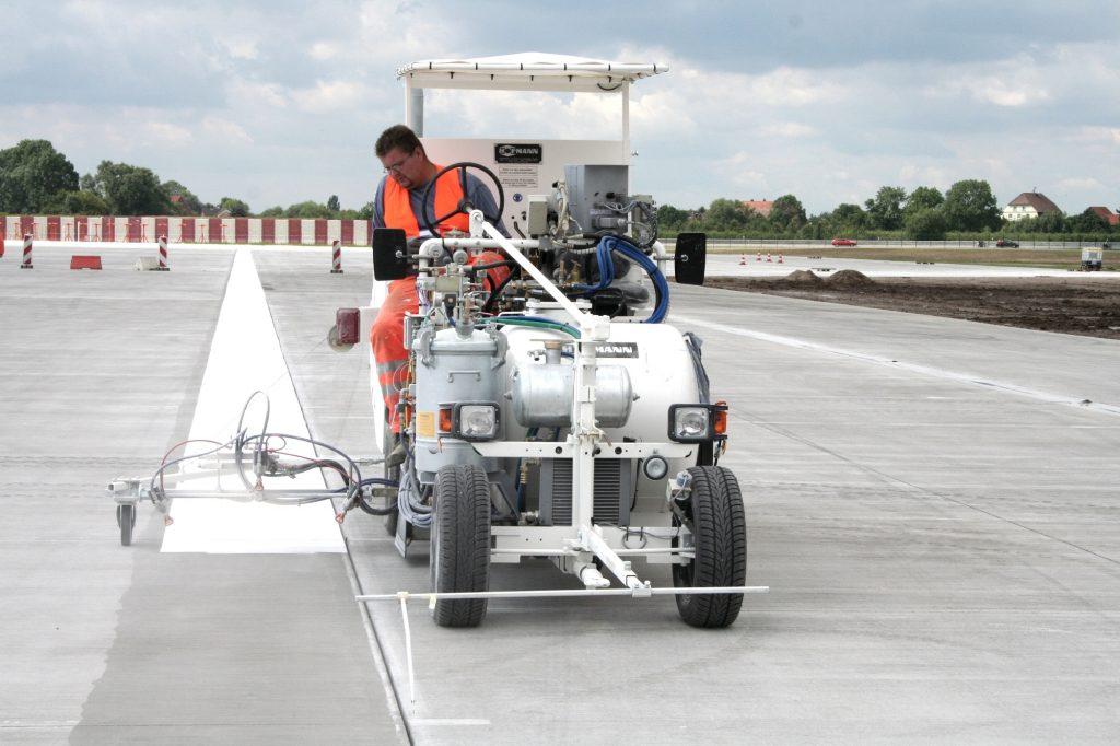 Runway / Airfield Line Marking Machines
