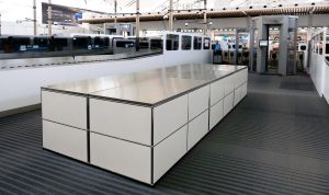 Security screening furniture