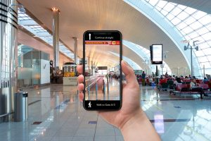 Digital Indoor Way-finding Application for Airports – Smart Navigation