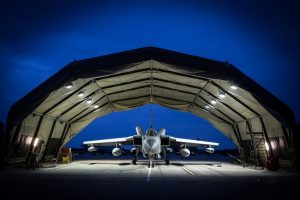 EFASS Military Aircraft Hangar