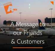 A Message to our Friends & Customers from A-ICE