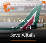 Italian Government Steps in to Save Alitalia
