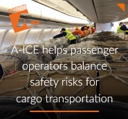 A-ICE helps passenger operators balance safety risks for cargo transportation