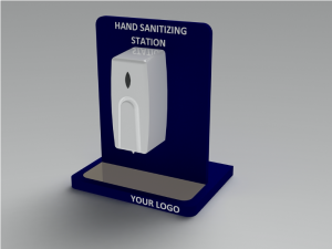 Contactless on counter Hygiene Station - Liquid dispenser