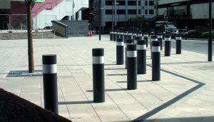 IWA 14-1 Super Shallow Bollard – HVM Crash tested