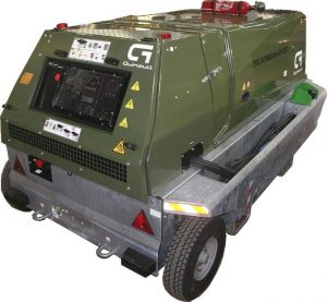 Mobile 400Hz Military Ground Power Unit (Diesel Engine Driven for Military Aircraft from 90 to 180 kVA