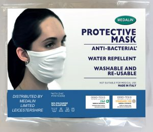 Adult Structured Protective Face Mask MOQ 100