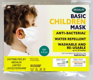 Children's Value Protective Face Mask - 4-8 years - MOQ 100