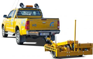 Surface Friction Tester Trailer