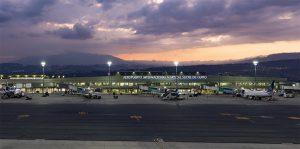Flight scheduling at Quito International Airport