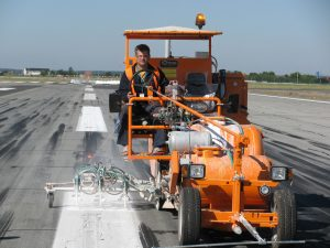 Hofmann H26 - Runway Line Marking Machine - Romania