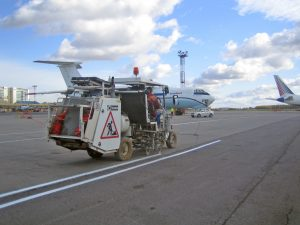 Hofmann H26 - Runway Line Marking Machine - St Petersburg