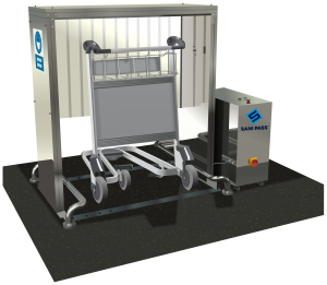 Luggage Cart Disinfection Unit