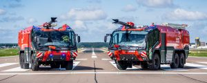 Kaunas Airport adds two Rosenbauer Panther vehicles to its fire rescue fleet