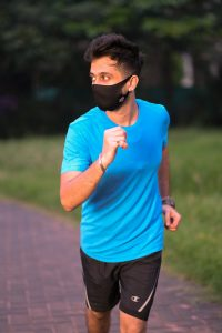 Global Development Partnership Spandex Mask Athlete usage