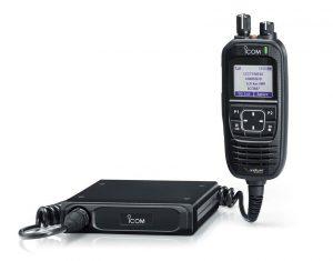 IC-SAT100M Satellite PTT Mobile radio