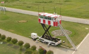 Tow Bar Trailer Mounted Elevating ATC Towers