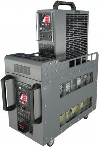 SPECIAL REACTIVE DEKAL DIGITAL LOAD BANK 400Hz AC