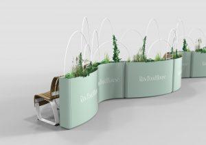 Radius Planter Divider