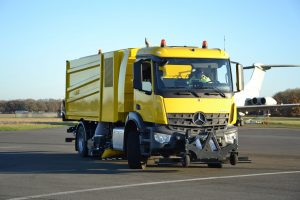 Bucher V95t aero – High Speed Runway and Multi Task Airport Sweeper