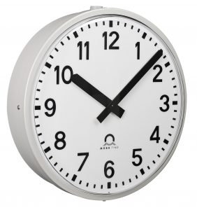 Analogue outdoor clock - Metroline