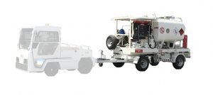 Electric Powered refuelling trailer
