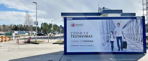 Safe travel becomes more convenient as Palanga Airport opens Covid-19 testing site