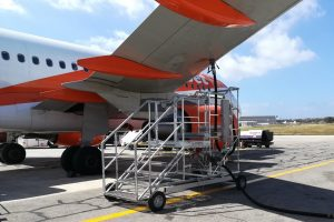 Ground Support Equipment - Fuelling stairs