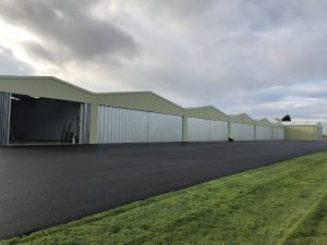 Steel Aircraft & Helicopter Hangars