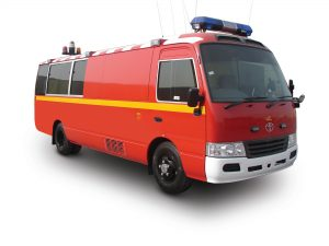 Mobile Command Post Vehicle