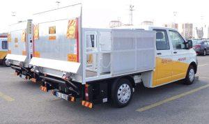 Aircraft Tire Transfer Truck
